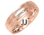 Rose Gold Designer Wedding Band 6mm RG-1284