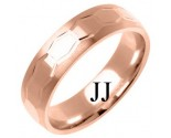 Rose Gold Designer Wedding Band 6mm RG-1288