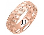 Rose Gold Designer Wedding Band 7mm RG-1298