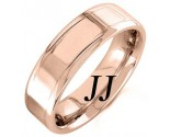 Rose Gold Polished Wedding Band 6.5mm RG-1356