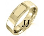 Yellow Gold Polished Wedding Band 6.5mm YG-1356