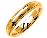 Yellow Gold Polished Wedding Band 4.5mm YG-1357