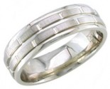 950 Platinum Wedding Band 6-7-8mm - PWB-1453