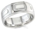 950 Platinum Wedding Band 6-7-8mm - PWB-1455