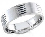 950 Platinum Wedding Band 6-7-8mm - PWB-1457