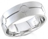 950 Platinum Wedding Band 6-7-8mm - PWB-1459