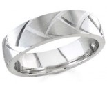 950 Platinum Wedding Band 6-7-8mm - PWB-1462