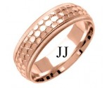 Rose Gold Designer Wedding Band 6mm RG-1499