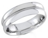 950 Platinum Wedding Band 6-7-8mm - PWB-1552