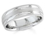 950 Platinum Wedding Band 6-7-8mm - PWB-1553