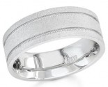 950 Platinum Wedding Band 6-7-8mm - PWB-1554