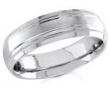 950 Platinum Wedding Band 6-7-8mm - PWB-1555