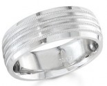 950 Platinum Wedding Band 6-7-8mm - PWB-1558