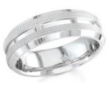 950 Platinum Wedding Band 6-7-8mm - PWB-1559