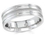 950 Platinum Wedding Band 6-7-8mm - PWB-1560