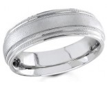 950 Platinum Wedding Band 6-7-8mm - PWB-1562