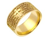 Yellow Gold Designer Wedding Band 10mm YG-1583