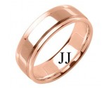 Rose Gold Designer Wedding Band 7mm RG-1586
