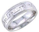 950 Platinum Wedding Band 6-7-8mm - PWB-1655