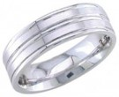950 Platinum Wedding Band 6-7-8mm - PWB-1657
