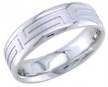 950 Platinum Wedding Band 6-7-8mm - PWB-1658