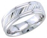 950 Platinum Wedding Band 6-7-8mm - PWB-1659