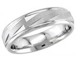950 Platinum Wedding Band 6-7-8mm - PWB-1660