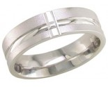 950 Platinum Wedding Band 6-7-8mm - PWB-1754
