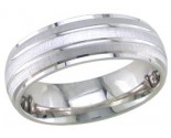 950 Platinum Wedding Band 6-7-8mm - PWB-1759