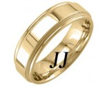 Yellow Gold Polished Wedding Band 7mm YG-1761