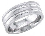 950 Platinum Wedding Band 6-7-8mm - PWB-1762