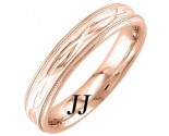 Rose Gold Interweave Wedding Band 4.5mm RG-1856