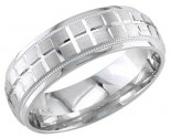 950 Platinum Wedding Band 6-7-8mm - PWB-1857