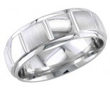950 Platinum Wedding Band 6-7-8mm - PWB-1859
