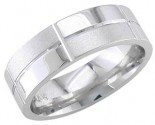 950 Platinum Wedding Band 6-7-8mm - PWB-1863
