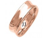 Rose Gold Designer Wedding Band 7mm RG-1484