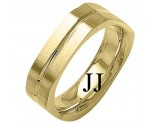 Yellow Gold Celtic Knot Wedding Band 8mm YG-2044