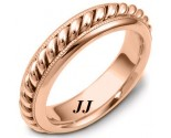 Rose Gold Wedding Band 6mm RG-267