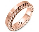 Rose Gold Wedding Band 5.5mm RG-272