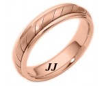 Rose Gold Wedding Band 5mm RG-275