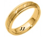 Yellow Gold Wedding Band 5mm YG-275