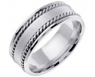 950 Platinum Wedding Band 6-7-8mm - PWB-359