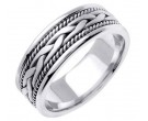 950 Platinum Wedding Band 6-7-8mm - PWB-455