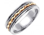 950 Platinum Wedding Band 6-7-8mm - PWB-460