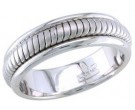 950 Platinum Wedding Band 6-7-8mm - PWB-656