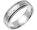 950 Platinum Wedding Band 6-7-8mm - PWB-754