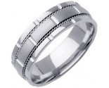 950 Platinum Wedding Band 6-7-8mm - PWB-760