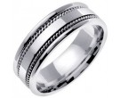 950 Platinum Wedding Band 6-7-8mm - PWB-854