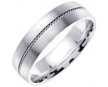 950 Platinum Wedding Band 6-7-8mm - PWB-860